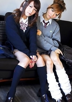 Lisa and her friend Serina - two horny schoolgirls love their extra curricular activities!