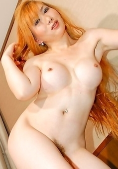 Sayaka With her voluptuous G-cup tits, milky white skin and sexy looks, every man falls into her prey, without knowing she`s got a big dick